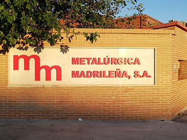 Metalúrgica madrileña - La empresa