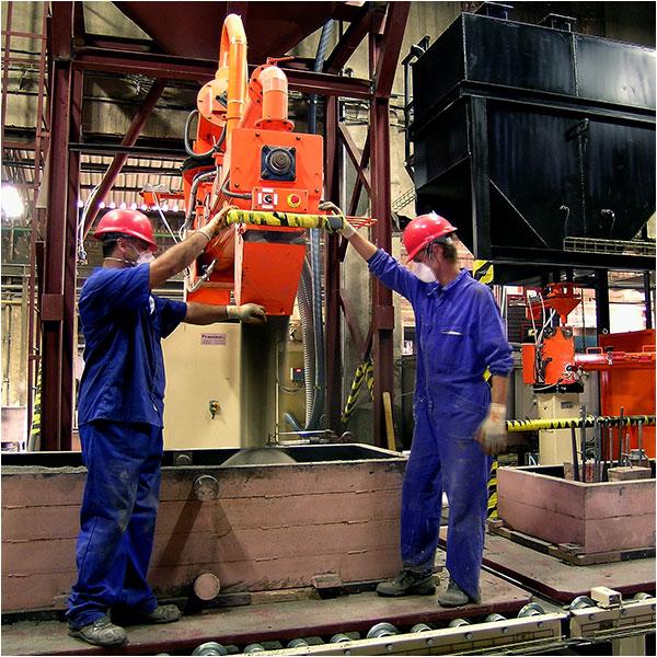 Metalúrgica Madrileña - Moldeo químico