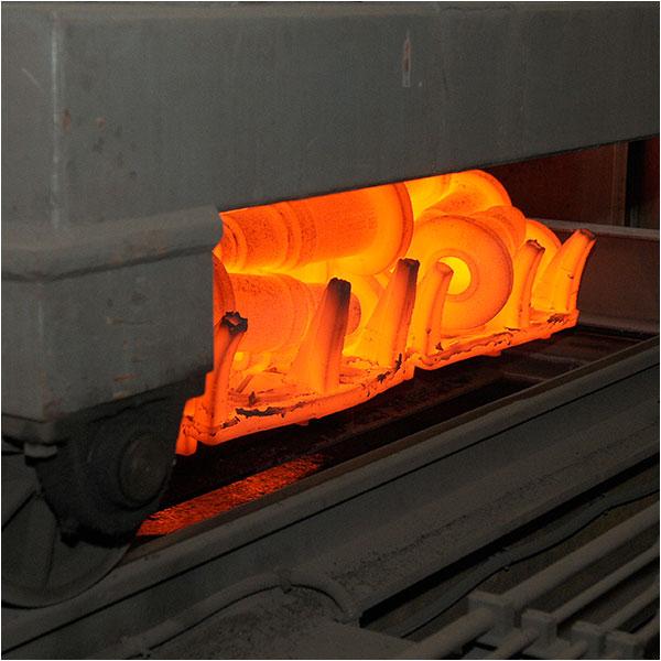 Metalúrgica Madrileña - Rebarba y tratamientos térmicos